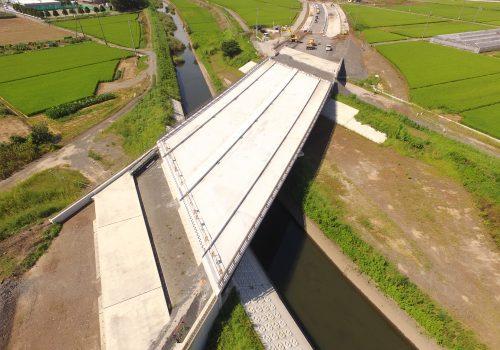 近藤川橋床版工事