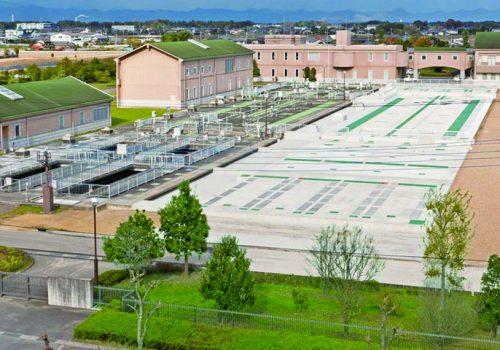 群馬県立西邑楽水質浄化センター