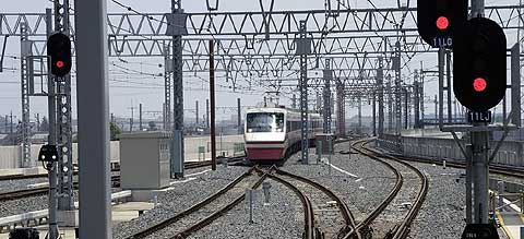 太田駅付近高架化工事
