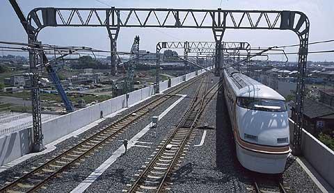東武日光線 栃木駅付近高架化工事