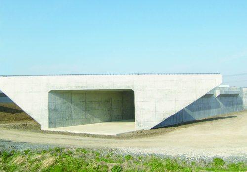 近藤川橋下部工事