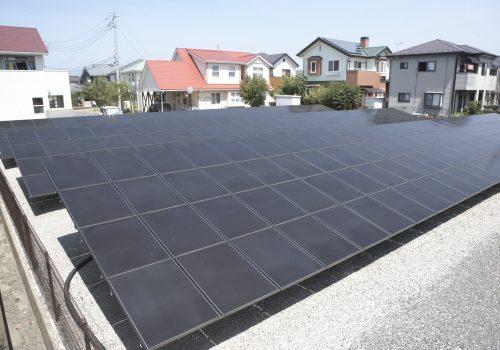 太陽光発電所 群馬県前橋市下新田町
